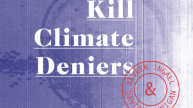 "Photo of Round 'Em Up Time? New Play Debuts: ""Kill Climate Deniers"""