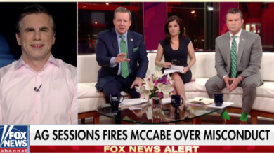 Photo of Tom Fitton Explains Why Andrew McCabe Was Fired