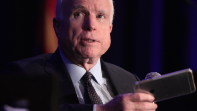 Photo of John McCain, Perhaps It's Time to Let Go Of All That Bitterness…