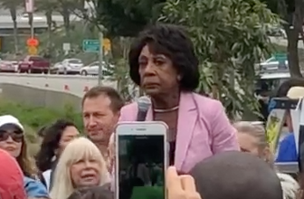 Photo of Judicial Watch Filing Ethics Complaint Against Maxine Waters For 'Inciting Violence and Assaults'