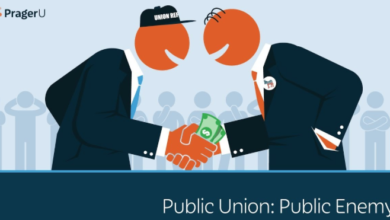 Photo of Prager University: Public Union, Public Enemy