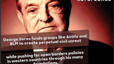 """Photo of Leftist Battlecry: """"No Borders! No Walls! No USA at All!"""""""
