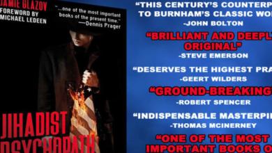 Photo of John Bolton Praises Jamie Glazov's Book 'Jihadist Psychopath'