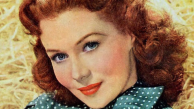 Photo of Rhonda Fleming, a Christian Leader in Old Hollywood