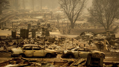 """Photo of Katherine Daigle: What Is Life Like After """"THE"""" California Firestorm?"""