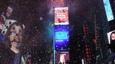 Photo of Daniel Greenfield: Times Square Ball Drop Cheers Islamic Terror