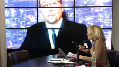 "Photo of Dr. Jamie Glazov on ""America Can We Talk?"" Discussing Jihadist Psychopath"