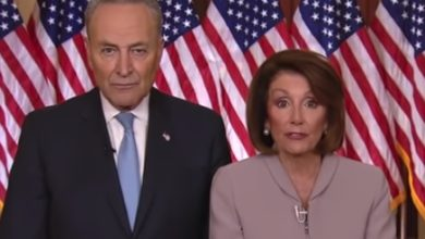 Photo of John Baldwin: Trump Addresses the Nation on Border Security (Pelosi and Schumer's Response: Blah, Blah, Blah)