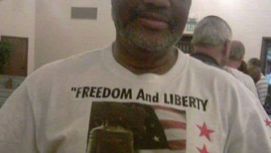 Photo of Emery McClendon: Freedom and Liberty, Use Them or Lose Them