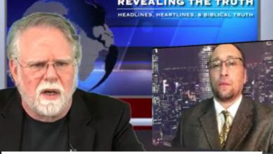 "Photo of Jamie Glazov & Rabbi Walker Discuss ""Jihadist Psychopath"""