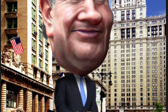 Photo of New Yorkers Laugh Out Loud When Told Their Mayor Wants To Be President