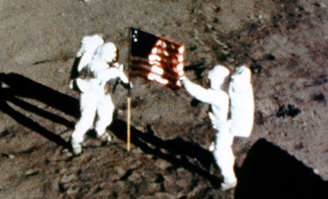 Photo of Old Glory on the Moon: 50 Years Later