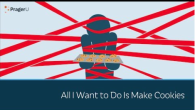 "Photo of Prager University: ""All I Want to Do Is Make Cookies"""