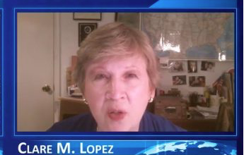 Photo of Clare Lopez: Yes, Iran Enabled 9/11