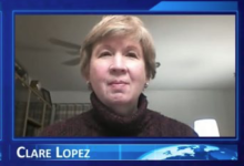 Photo of Clare Lopez: Bernie's Commie Craze