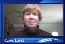 Photo of Clare Lopez: Bernie's Commie Craze