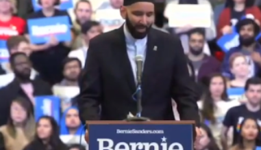Photo of Greenfield: An Imam at a Bernie Rally Had Defended Sex Slavery, Chopping Off Hands, Called for Destruction of Israel