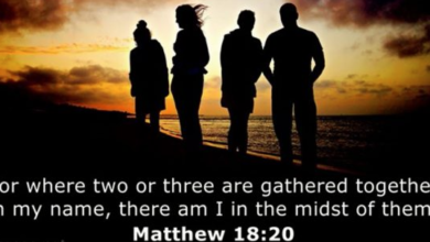 Photo of Social Distancing: Preventing People from Gathering in Jesus's Name