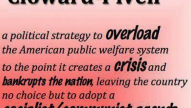 Photo of Shaw: Cloward-Piven, Alinsky Strategies Used by Dems to Regain Power