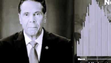 """Photo of Cuomo Gaslight's the DNC: """"When we needed them [the Feds] they were there"""""""