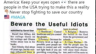 Photo of Alinsky-ism: The Democrat Agenda
