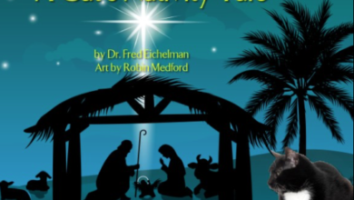 Photo of Book Review: A Cat's Nativity Tale by Dr. Fred Eichelman
