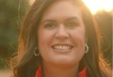 Photo of Gov. Mike Huckabee: Sarah Announces for Governor!