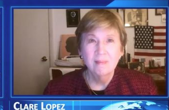 Photo of Clare Lopez: Liberation Theology Merging with Black Lives Matter