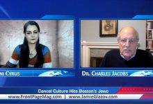 Photo of Dr. Charles Jacobs: Cancel Culture Hits Boston's Jews