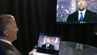Photo of Glazov on Lindell TV: The Mask, The Burqa, & Maoist Unisex Clothing